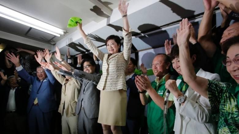 Η πρώτη γυναίκα κυβερνήτης του Τόκιο
