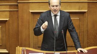 Χατζηδακης: Βήμα προς τα πίσω το νομοσχέδιο για τις δημόσιες συμβάσεις