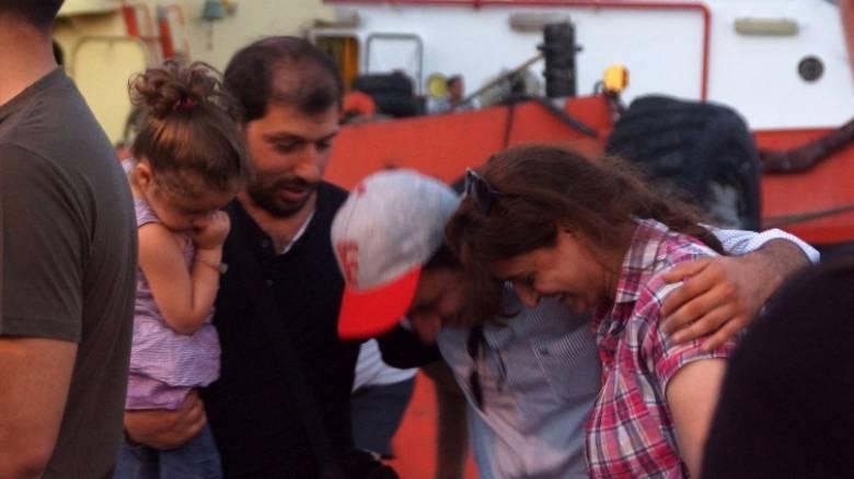 Νέο ναυάγιο με πρόσφυγες και μετανάστες ανοικτά της Μυτιλήνης