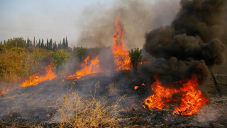 Πυρκαγιά στα Αμπέλια Αγρινίου