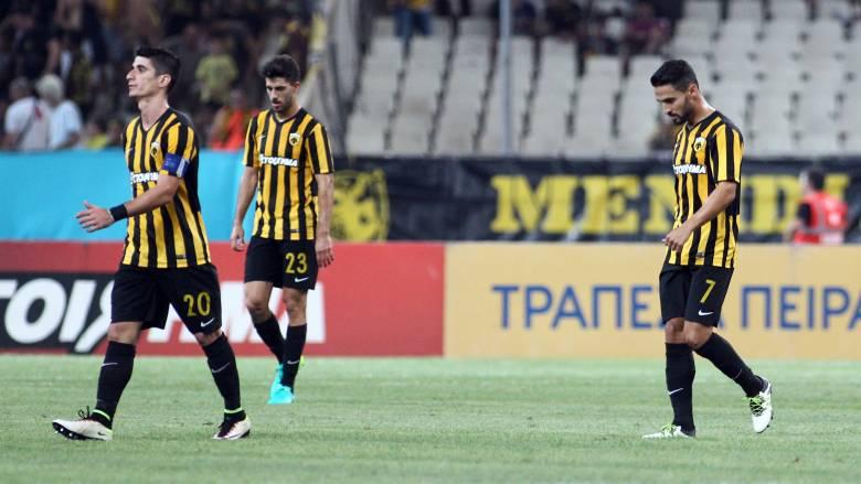Europa League: ήττα 1-0 από την Σεντ Ετιέν και εκτός Ευρώπης η ΑΕΚ