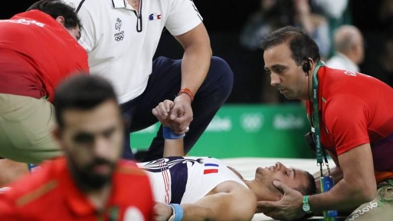 Ρίο 2016: Ανατριχιαστικός τραυματισμός Γάλλου αθλητή (σκληρές εικόνες)