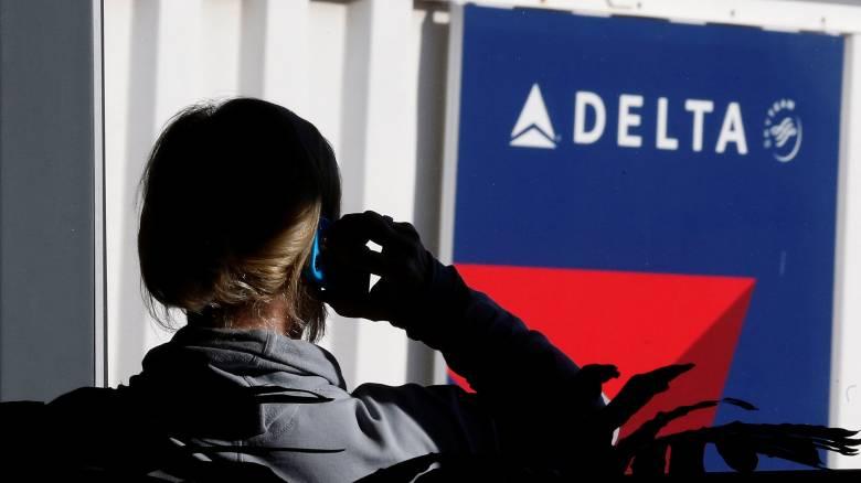 Καθηλωμένες στο έδαφος όλες οι πτήσεις της Delta Airlines