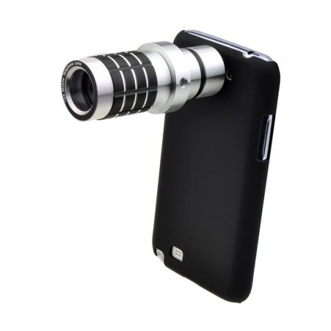 12x Optical Zoom lens Telescope camera lens for Samsung GALAXY S4 i9500 mobile phone lens with