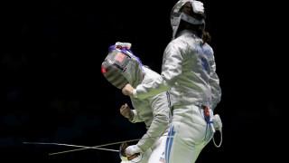 Ρίο 2016: άνετα στους 16 της ξιφασκίας η Βάσω Βουγιούκα