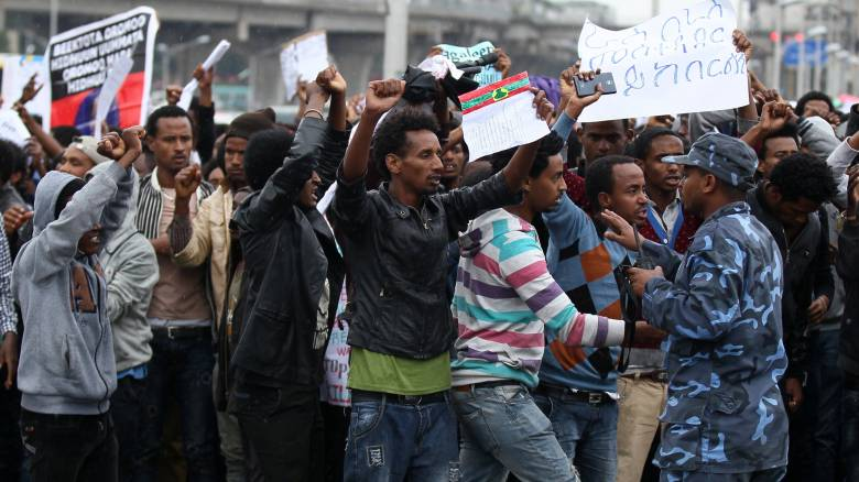 Αιθιοπία: Η αντιπολίτευση κάνει λόγο για πενήντα νεκρούς σε αντικυβερνητικές διαδηλώσεις