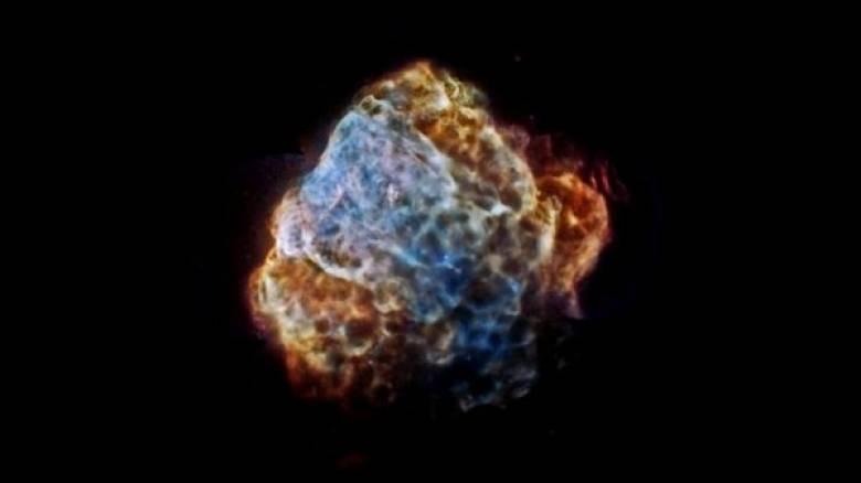Ίχνη στη Γη από μια έκρηξη σούπερ-νόβα