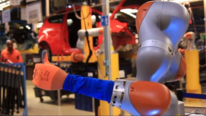 H Ford ξεκινά την 4η βιομηχανική επανάσταση με τα συνεργατικά ρομπότ;