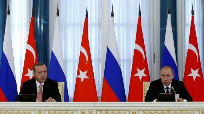 Πούτιν: Κοινός στόχος Ρωσίας-Τουρκίας η επίλυση της κρίσης στη Συρία
