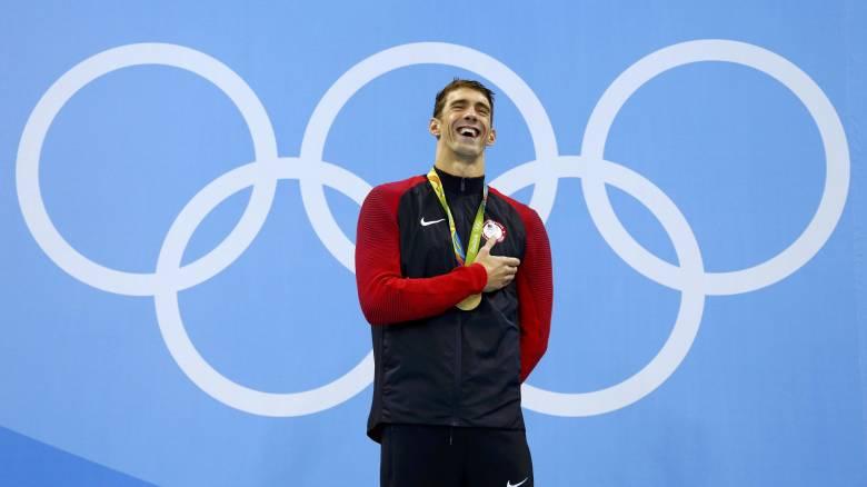 Ρίο 2016: Μάικλ Φελπς από ατόφιο χρυσάφι