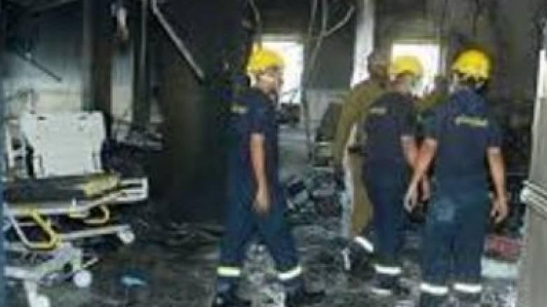 Βαγδάτη: Τραγωδία με 11 βρέφη νεκρά από πυρκαγιά σε μαιευτήριο