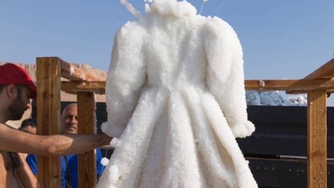 Ένα φόρεμα… στήλη άλατος