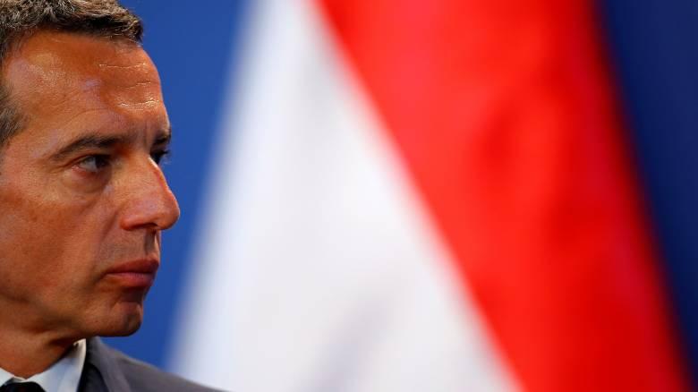 Ο Αυστριακός καγκελάριος επιμένει για διακοπή των ενταξιακών διαπραγματεύσεων της Τουρκίας