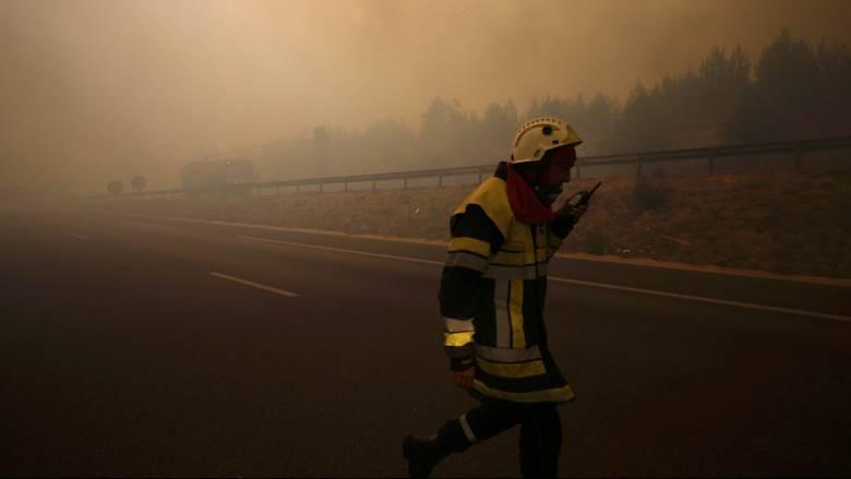 Πυρκαγιές εκτός ελέγχου στη Νότια Γαλλία