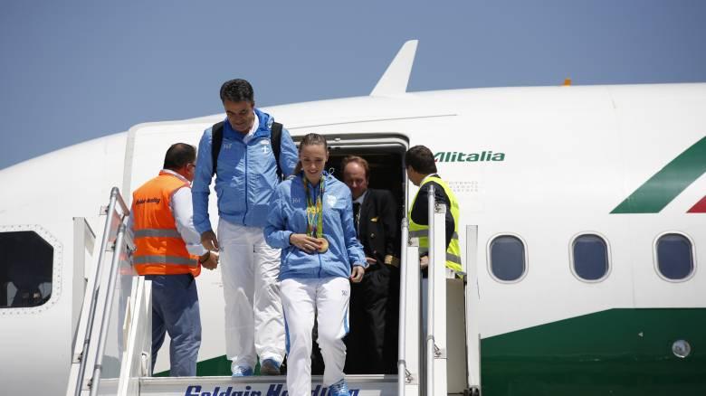 Με δύο ολυμπιακά μετάλλια επέστρεψε στην Ελλάδα η Άννα Κορακάκη