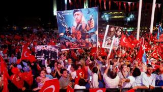 Στο 68% εκτοξεύτηκε η δημοτικότητα του Ερντογάν