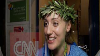 Η Κορακάκη στο CNN Greece