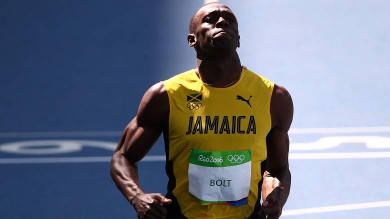 Ρίο 2016: Περπατώντας ο Μπολτ στον ημιτελικό των 100 μέτρων, αγριεμένος ο Γκάτλιν