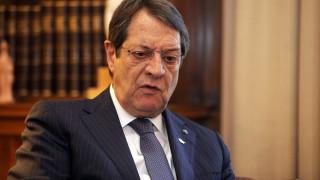 Ν. Αναστασιάδης: Λύση στο πλαίσιο των ψηφισμάτων του ΟΗΕ