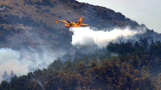 Έκτακτη σύσκεψη συντονισμού για τη μάχη με τις φλόγες στον Αγ. Γεώργιο Μεσολογγίου
