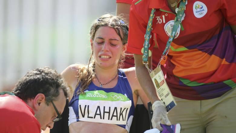 Ρίο 2016: Κατέρρευσε η Βλαχάκη στον τερματισμό του Μαραθωνίου (video)