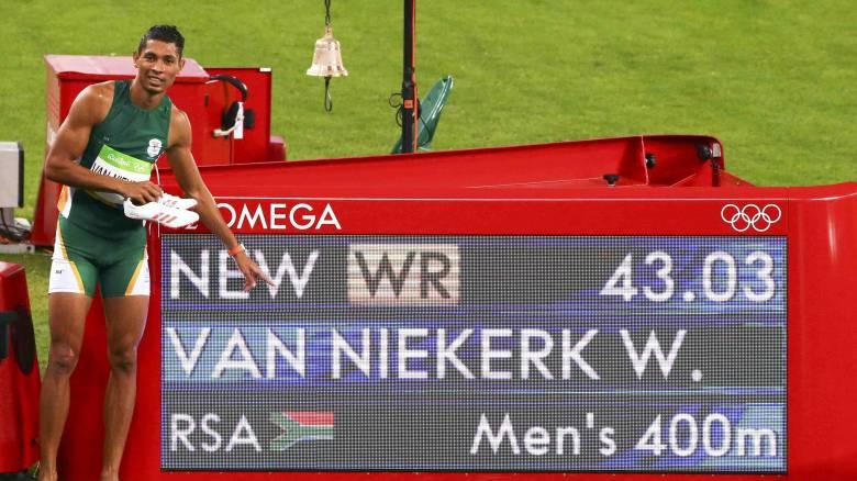 Ρίο 2016: Γουέιντ Βαν Νίκερν, ο Νοτιοαφρικανός που «σκότωσε» το ρεκόρ του Τζόνσον