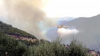 Χανιά: Υπό μερικό έλεγχο οι πυρκαγιές στο νομό