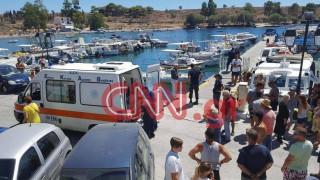 Ο Π. Βαλασόπουλος μεταδίδει από την Αίγινα για το CNN Greece (vid)