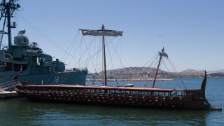 Νέο πλου της θρυλικής τριήρους Ολυμπιάς με κωπηλάτες πολίτες διοργανώνει το Πολεμικό Ναυτικό