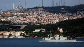 Σύγκρουση φορτηγού πλοίου με πλοίο της ακτοφυλακής στα Στενά του Βοσπόρου