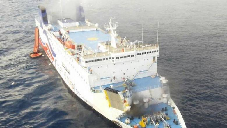 Πουέρτο Ρίκο: Όλοι σώοι από την πυρκαγιά του κρουαζιερόπλοιου