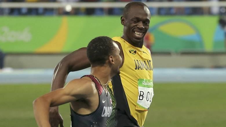 Ρίο 2016: Πρόκριση με απίστευτο χρόνο και… γελάκια για Μπολτ, σοκ με Γκάτλιν στα 200μ.