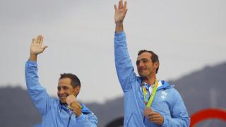 Ρίο 2016: συγκίνηση και περηφάνια στην απονομή των μεταλλίων στα 470 της ιστιοπλοΐας (vid)