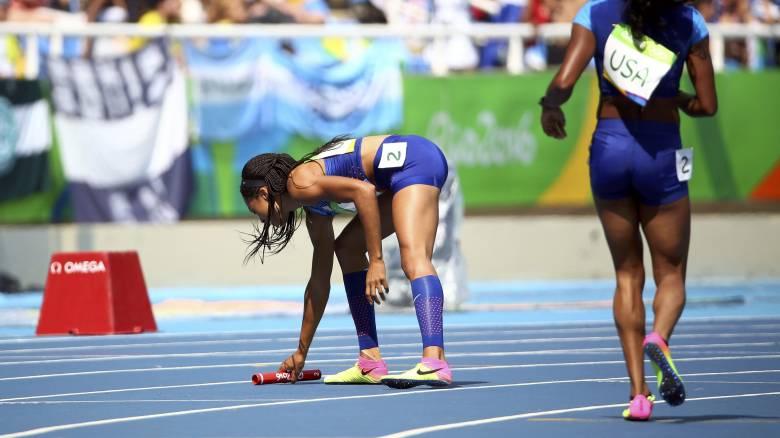 Ρίο 2016: κέρδισαν την ένσταση οι Αμερικανίδες και θα τρέξουν μόνες τους για πρόκριση στα 4Χ100