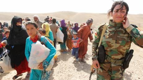 Συρία: Απομακρύνονται χιλιάδες άμαχοι Κούρδοι από τη Χασάκα