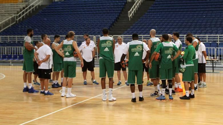Πρώτη προπόνηση για την ομάδα μπάσκετ του Παναθηναϊκού Superfoods