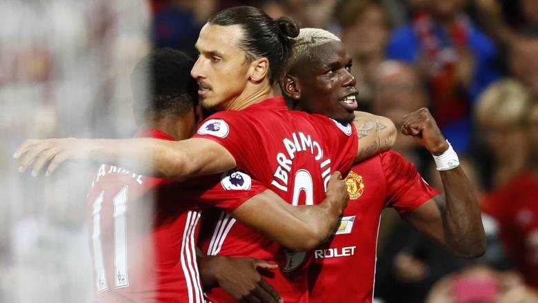 Premier League: με σόου Ζλάταν και ντεμπούτο Πογκμπα η Γιουνάιτεντ νίκησε την Σαουθάμπτον 2-0