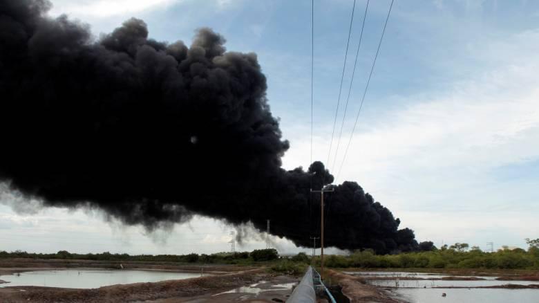 Νικαράγουα: Τεραστίων διαστάσεων πυρκαγιά στο μοναδικό διυλιστήριο της χώρας