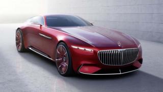 Η Vision Mercedes Maybach 6 εντυπωσιάζει με το μέγεθος, τις αναλογίες και την πολυτέλειά της