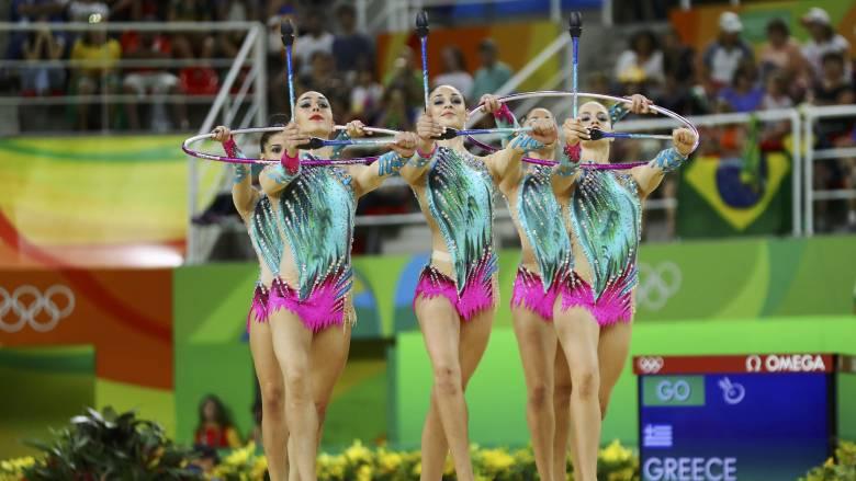 Ρίο 2016: εκτός τελικού στην 13η θέση η ομάδα του ανσάμπλ στην ρυθμική γυμναστική