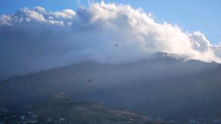 Σε εξέλιξη πυρκαγιά στην περιοχή Κατσαρώνι της Εύβοιας