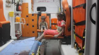 Χαλέπι: Έχασε τη μάχη ο 10χρονος αδελφός του «αγοριού στο ασθενοφόρο»