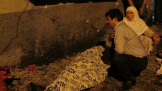 Φονική έκρηξη στο Γκαζίαντεπ – Τουλάχιστον 30 νεκροί (vid)