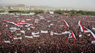 Υεμένη: Ισχυρό μήνυμα υπέρ των Χούτι η μαζική διαδήλωση στη Σαναά