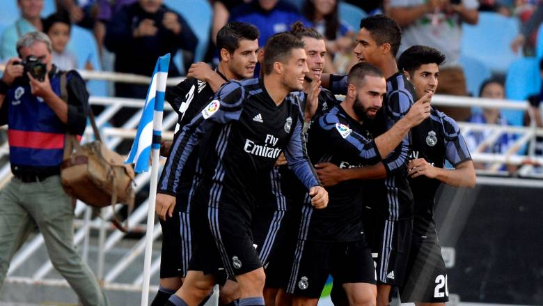 """Primera Division: """"διπλό"""" με Μπέιλ η Ρεάλ Μαδρίτης επί της Σοσιεδάδ"""