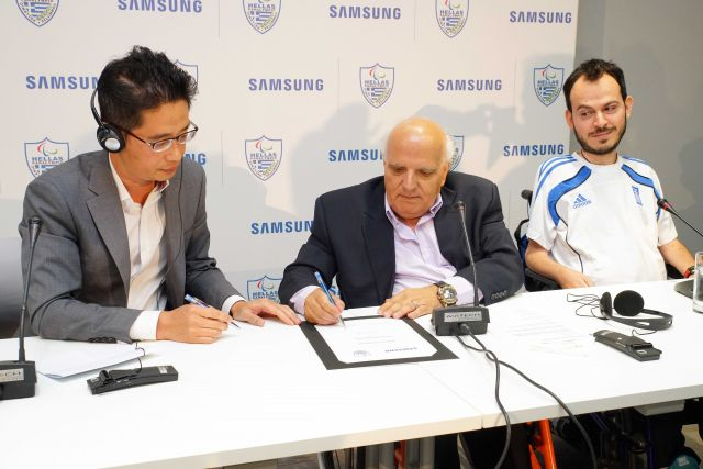 Samsung Paralympics Press Conference 2