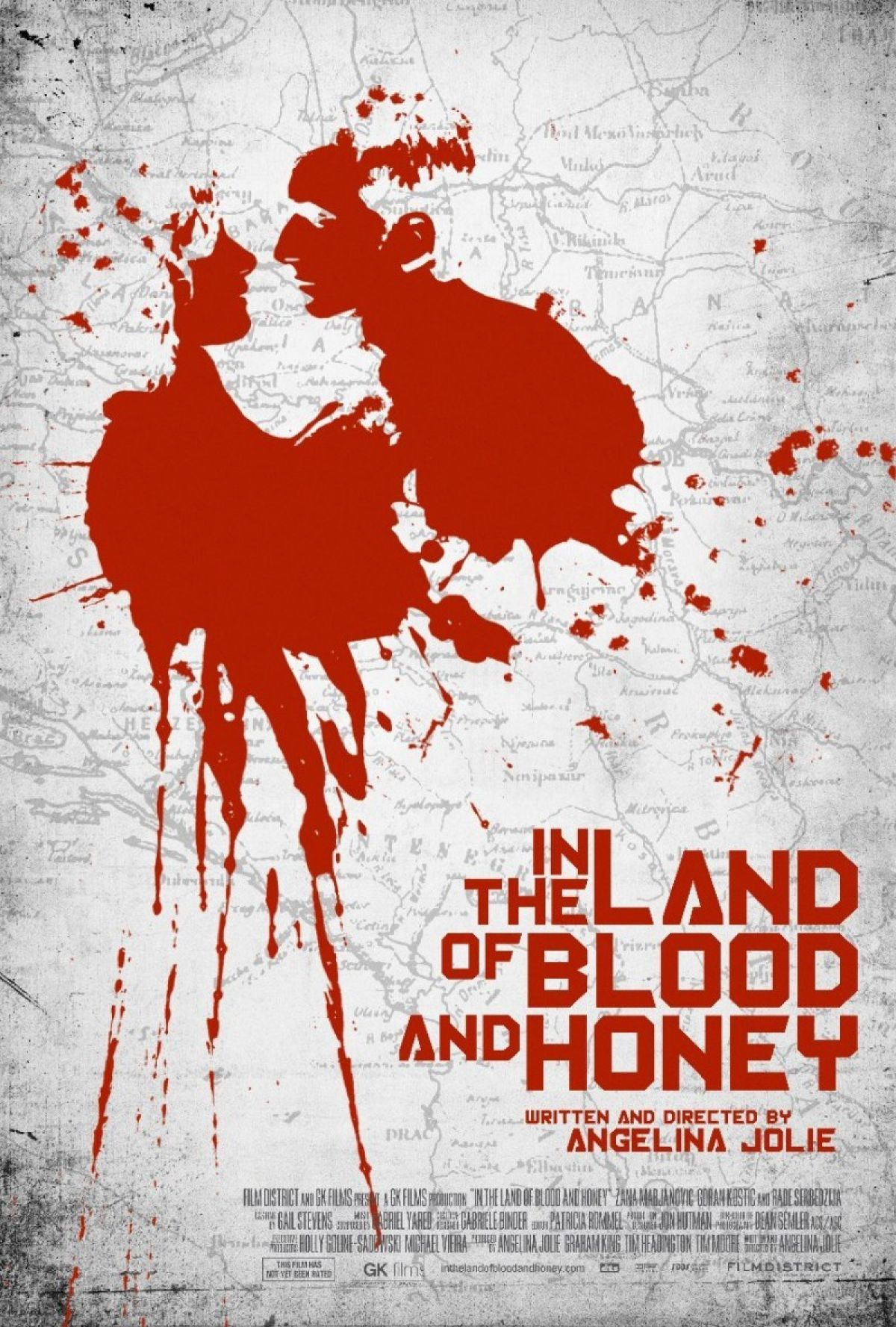 5539 in the land of blood and honey poster