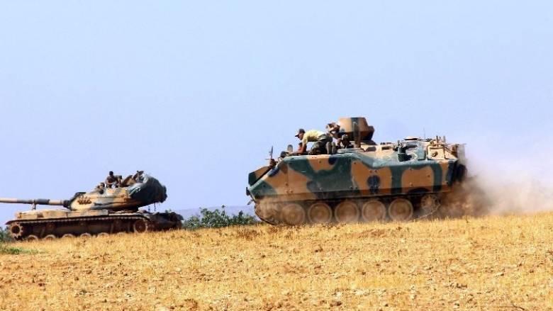 Τουρκικά άρματα μάχης εισέβαλαν στη Συρία