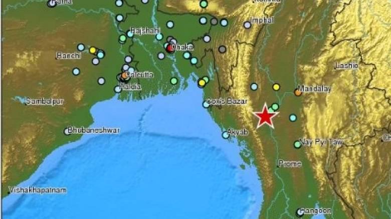 Ισχυρός σεισμός μεγέθους 6,8R στη Μιανμάρ-Αισθητός σε άλλες τρεις χώρες