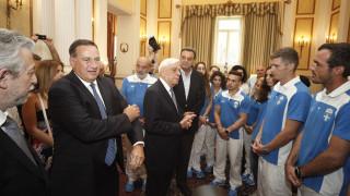 Θερμή υποδοχή Παυλόπουλου στους Έλληνες Ολυμπιονίκες